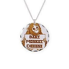 Baby Monkey Designs Logo Necklace
