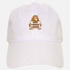 Baby Monkey Designs Logo Baseball Baseball Baseball Cap