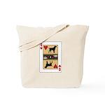 Queen Griffon Tote Bag