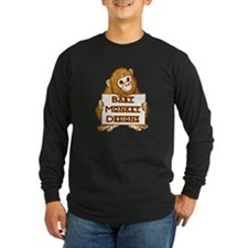 Baby Monkey Designs Logo Long Sleeve T-Shirt