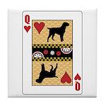Queen Griffon Tile Coaster