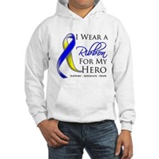 Ribbon Hero Down Syndrome Hoodie