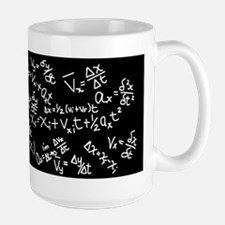 Physics Cheat Sheet I Black Mug