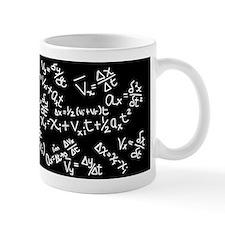Physics Cheat Sheet I Black Small Mugs