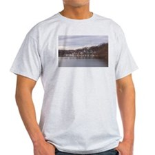 University Boathouses, Philadelphia- T-Shirt