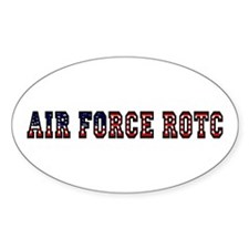 AFROTC Pride Oval Bumper Stickers