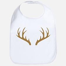 Brown Deer Antlers Bib