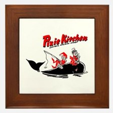 Whale & Pixie Fisherman Framed Tile