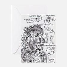 Bukowski Greeting Card