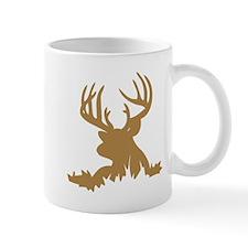Brown 12 Point Buck Mugs