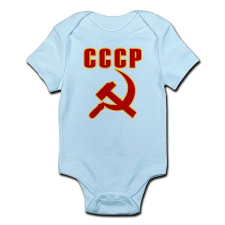 CCCP Soviet Union Infant Bodysuit