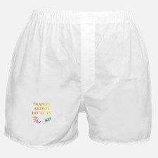 Trapeze Artists Gift Boxer Shorts