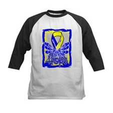 Down Syndrome Hope Butterfly Baseball Jersey