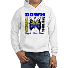 Down Syndrome Butterfly Hoodie