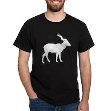 White Gazelle Silhouette T-Shirt