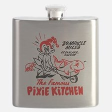Pixie Kitchen Fish In Wheelbarrow Flask