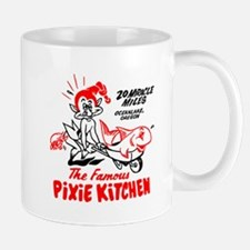 Pixie Kitchen Fish in Wheelbarrow Mug