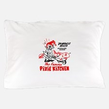 Pixie Kitchen Fish in Wheelbarrow Pillow Case
