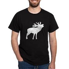 White Elk Silhouette T-Shirt