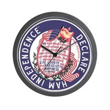 Ham Independence Wall Clock