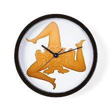 Trinacria Wall Clock