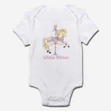 Carousel Pony Little Sister Infant Bodysuit