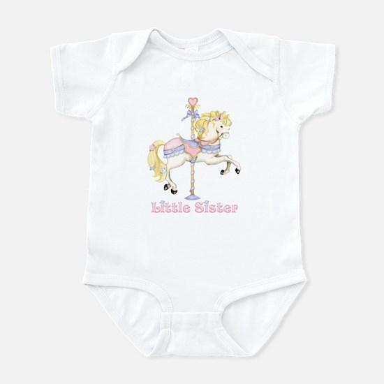 Carousel Pony Little Sister Infant Bodysuit
