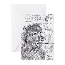 Unique Bukowski Greeting Cards (Pk of 20)