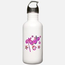 Colorful Theatre Mask Water Bottle