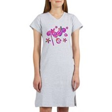 Colorful Theatre Mask Women's Nightshirt