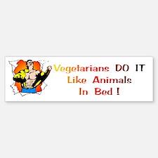 Vegetarians Gift Bumper Bumper Bumper Sticker
