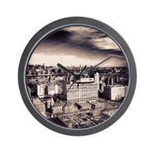 Brooklyn Skyline Wall Clock