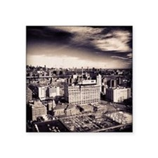 "Brooklyn Skyline Square Sticker 3"" x 3"""