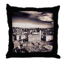 Brooklyn Skyline Throw Pillow
