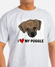 I Heart My Puggle T-Shirt