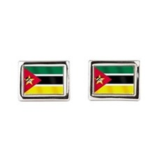 Flag of Mozambique Cufflinks
