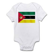 Flag of Mozambique Infant Bodysuit