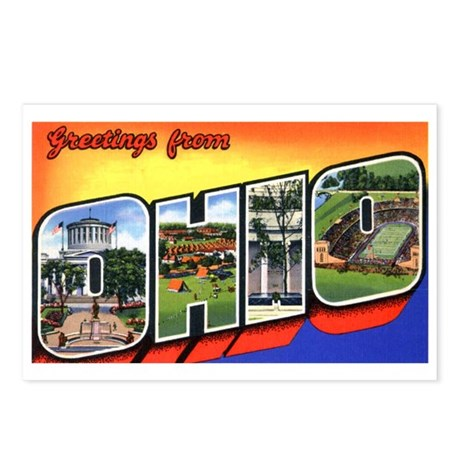 Ohio Greetings Postcards (Package of 8)