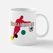 Mozambique Football Player Mug