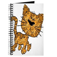 Cute Tiger Cat Journal