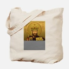 Ikon of St. Alfred the Great Tote Bag