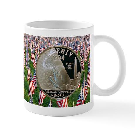 Vietnam Veterans Memorial Dollar Mug