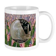 Vietnam Veterans Memorial Dollar Mug