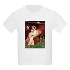 SeatedAngel-BullTerrier (P) T-Shirt