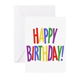 Birthday Greeting Cards (20 Pack)