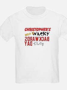 Backwards Day Kids T-Shirt