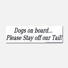 Unique Dogs Car Magnet 10 x 3