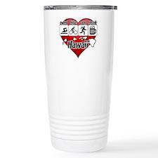 Hawaii Swim Bike Run Dr Travel Coffee Mug