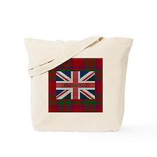 Obsessenach - Red Plaid border Tote Bag