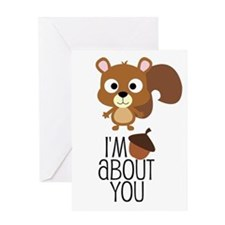 I'm Nuts About You Greeting Cards
